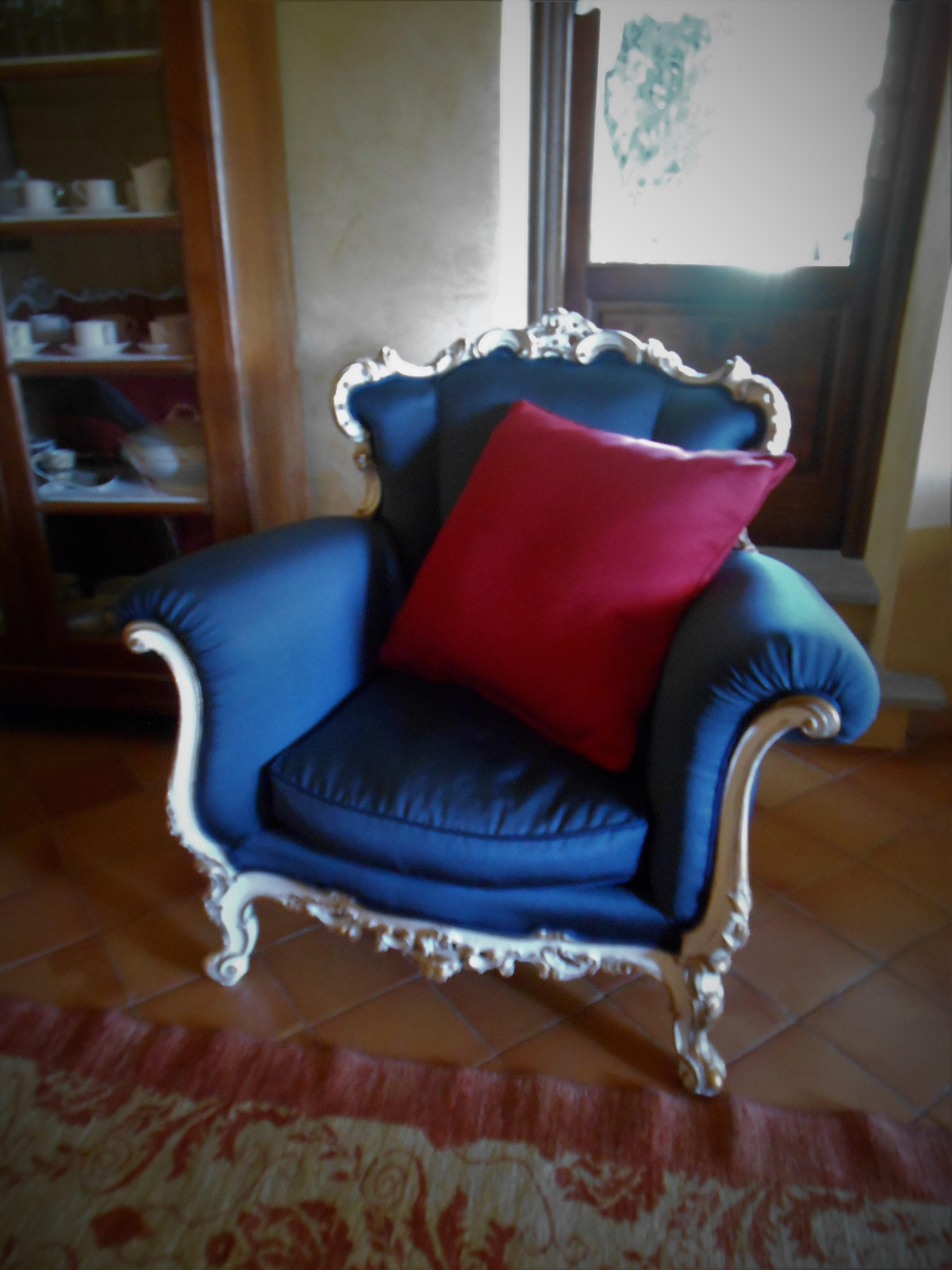Poltrona in stile Barocco piemontese – Secolor